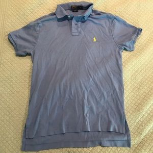 Carolina blue Polo collared shirt